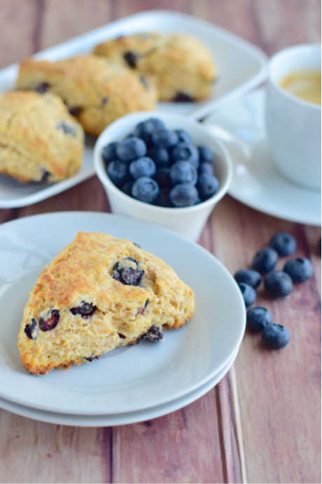 Blueberry Scones: Try this recipe from Sally's Baking Addiction. Scones don't have to come from a bakery to be moist and tender.
