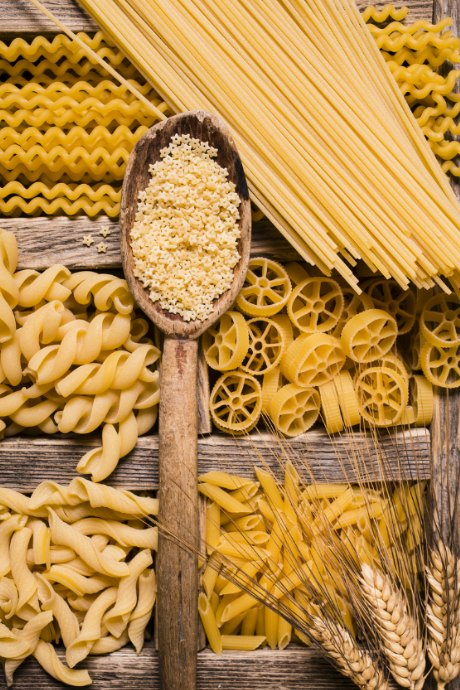 Homemade Pasta Dough: Fresh pasta and dry pasta are different. Dry pasta consists primarily of flour and water. It takes longer to cook, and it is meant to be paired with heavier sauces.