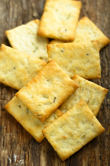 Homemade Crackers: We found lots of recipe recommendations from The Kitchn, King Arthur Flour, and Ree Drummond.