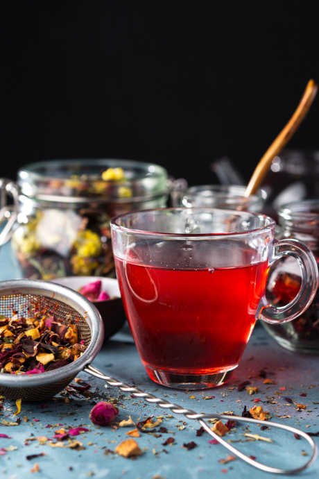 Dry January: Hot tea can be a relaxing, non-alcoholic evening ritual you may carry on well into the new year.