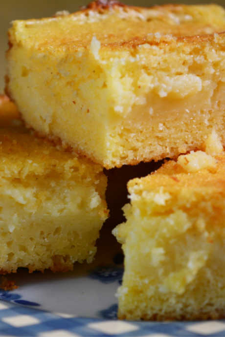 Northern Cornbread: Northern cornbread is sweeter, lighter, and more cake-like than Southern cornbread.