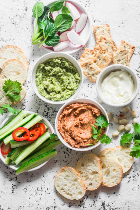 Picnic-Proof Dishes: Dip travels beautifully, and it's easy to serve from a sealed container that won't leak. Plus, most dips go well with a variety of chips, crackers, and breads.
