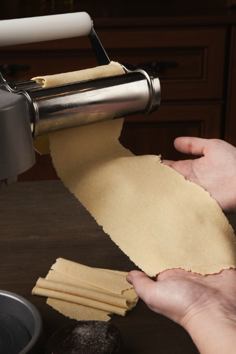 Homemade Crackers: If you can't get the dough thin enough with a rolling pin, try using your pasta roller.