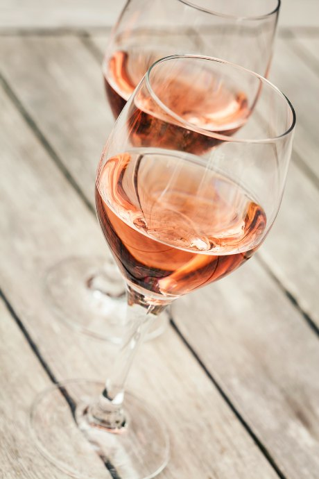 If you're drinking rosé on its own, choose a higher quality bottle. But if you're mixing it with other ingredients, it doesn't need to be top quality.