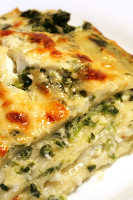 Lasagna Recipes: A classic way to make vegetarian-friendly lasagna is to make it with spinach. Those leafy greens pair well with pasta and cheese.