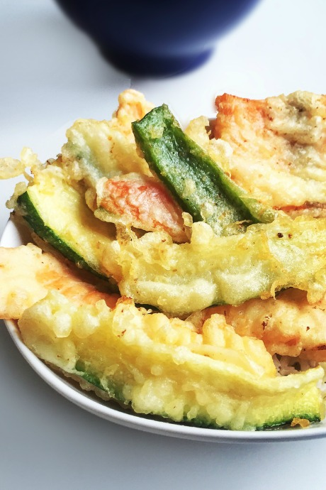 Vegetable Tempura: The batter is the real secret to light, crispy tempura, and the secret to tempura batter is to keep it cold and barely mix it. That's why you want to have all of your vegetables prepared and your oil ready for frying before you assemble your batter.